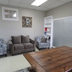 Remodeled Teachers' Lounge