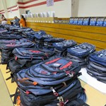 Backpacks Donated